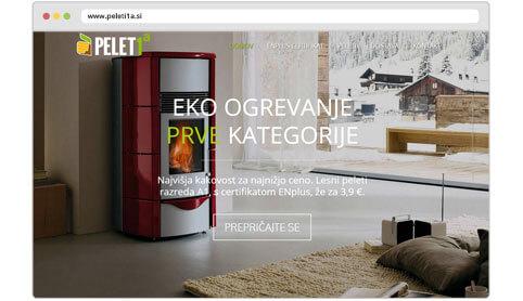Peleti1a izdelava spletne trgovine
